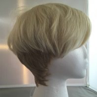 Ryo cosplay wig side