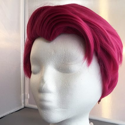 Zarya cosplay wig view 2