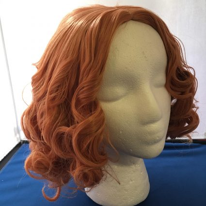Haru cosplay wig 3/4th view