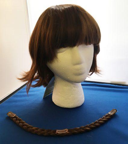 Makoto Niijima cosplay wig front view