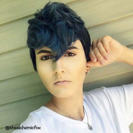 Python cosplay wig