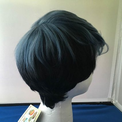 Python cosplay wig back view