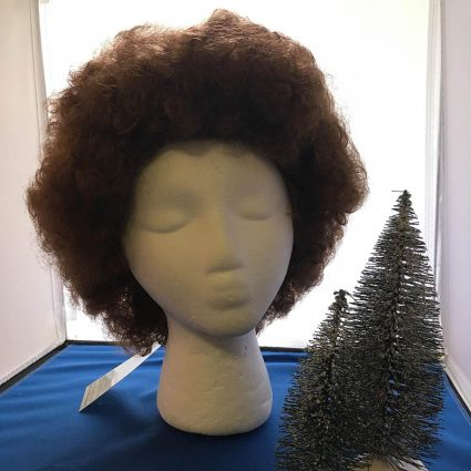 Bob Ross cosplay wig