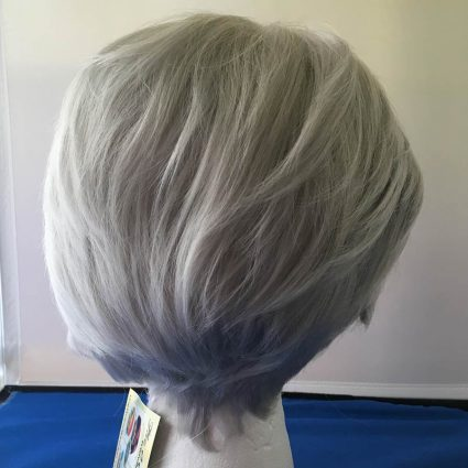 Victor cosplay wig back view