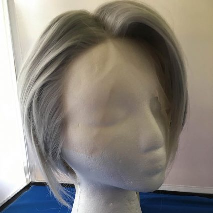 Victor cosplay wig lacefront side view
