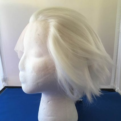 white lacefront wig side