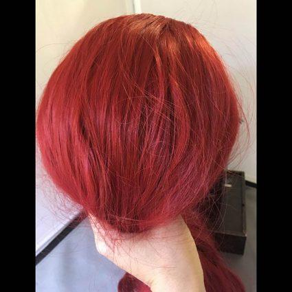 Aubrey cosplay wig back view