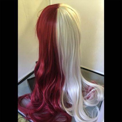 Shota cosplay wig back view