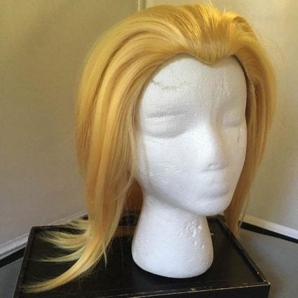 Toshinori cosplay wig