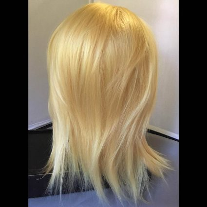 Toshinori cosplay wig back view