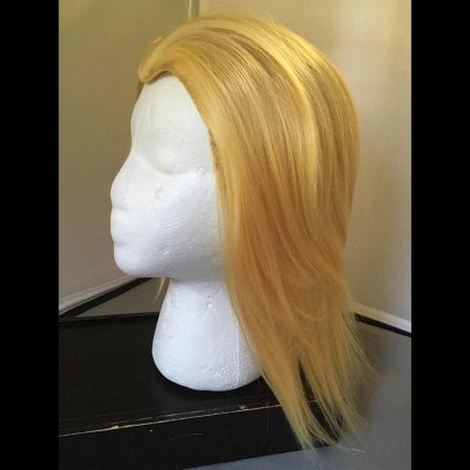 Toshinori cosplay wig side view