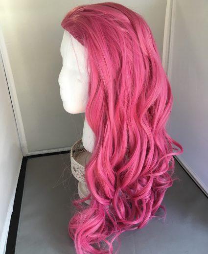 Caduceus wig side view