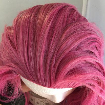 Caduceus wig top view