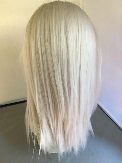 Geralt wig back view