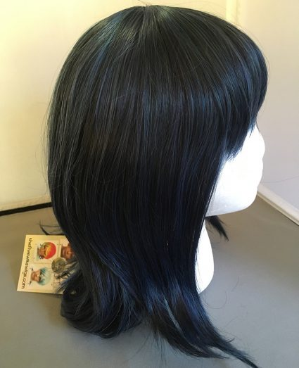 Jester wig side view