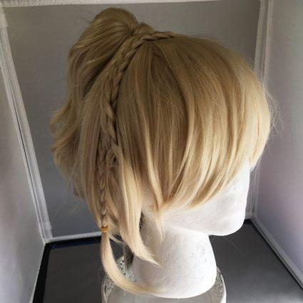 Lunafreya cosplay wig