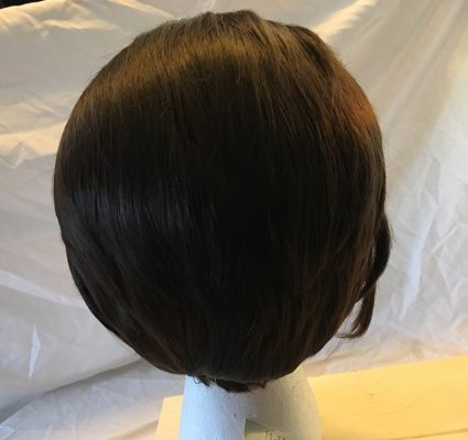 Connor Wig Back View