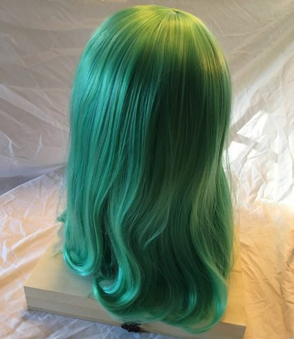 Ms Joke Wig Back View