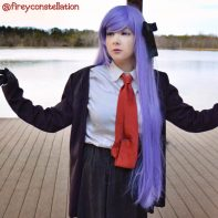 Kirigiri cosplay by @fireyconstellation
