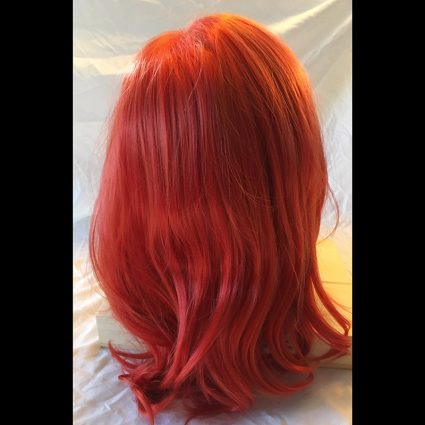 Mera cosplay wig back view