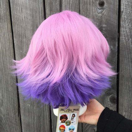 Glimmer wig back
