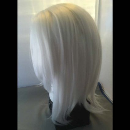 Ashe cosplay wig side view