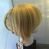 Saber cosplay wig