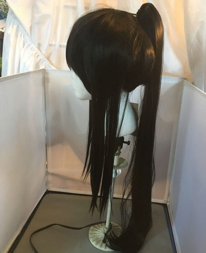 Samurai wig side view