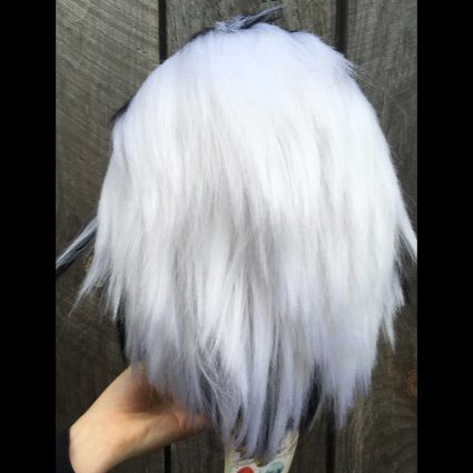 Bokuto cosplay wig back view