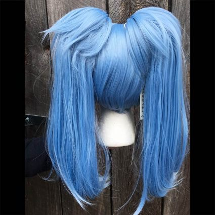 Lily cosplay wig back view