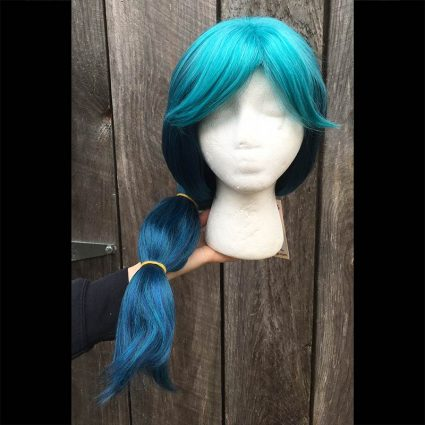 Mermista cosplay wig