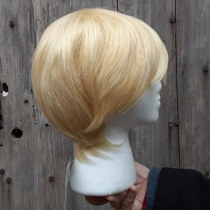 Yosh! cosplay wig side view
