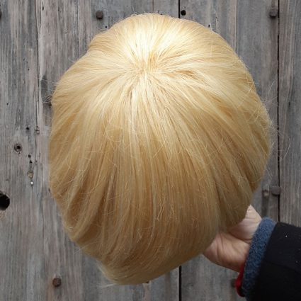 Yosh! cosplay wig top view
