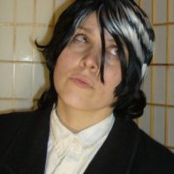 Death the Kid cosplay wig