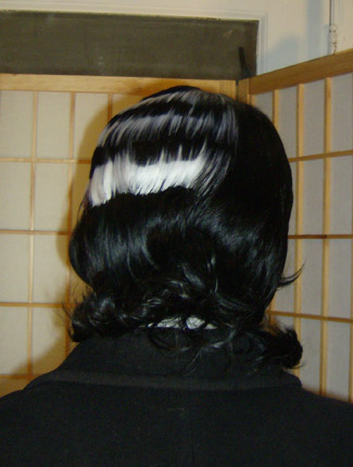 Death the Kid wig back view