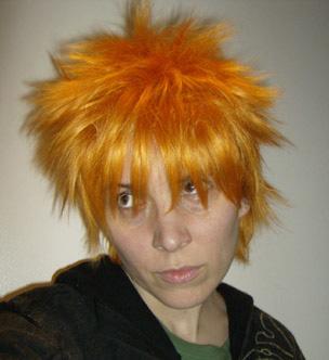 Ichigo cosplay wig