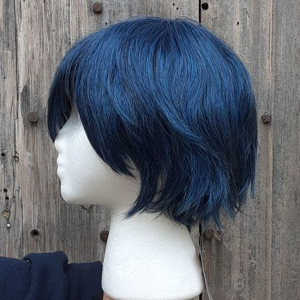 Intergalactic cosplay wig side view