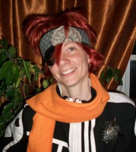 Lavi cosplay wig