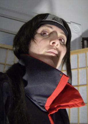 Itachi cosplay wig