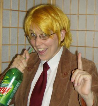 America cosplay wig