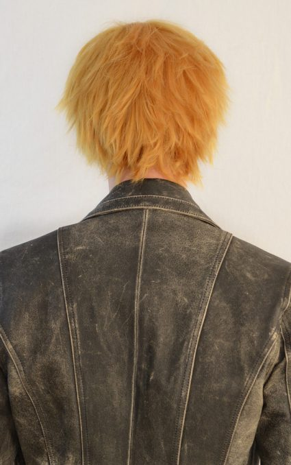 Naruto cosplay wig back view