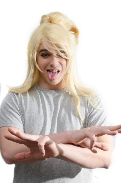 Deidara cosplay wig