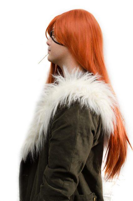 Badou cosplay wig side view