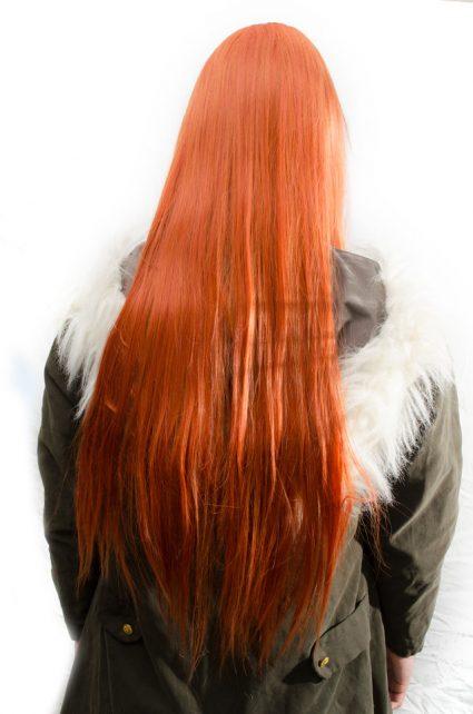 Badou cosplay wig back view