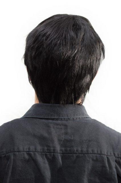 Tadashi Hamada cosplay wig back view