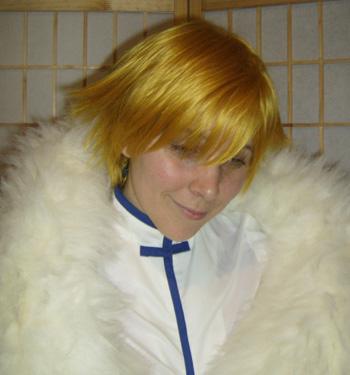 Fai cosplay wig