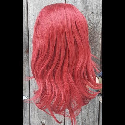 Fire Spinning cosplay wig back view