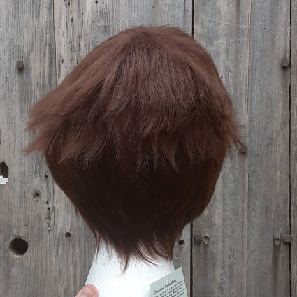 Lance cosplay wig back view