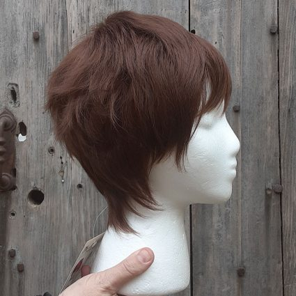Lance cosplay wig side view
