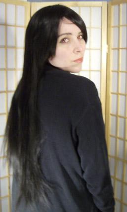 Nico Robin cosplay wig